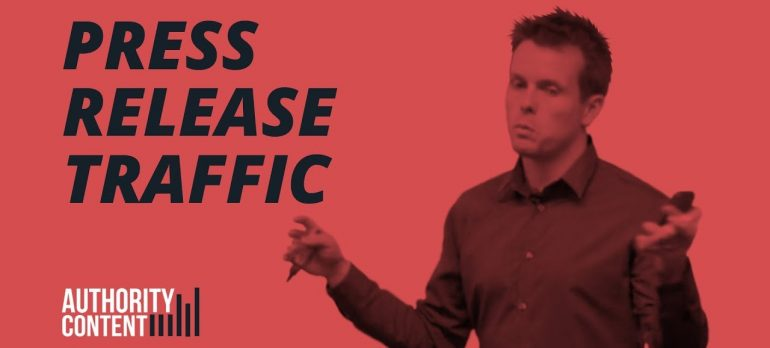 How To Use Press Releases To Generate Traffic