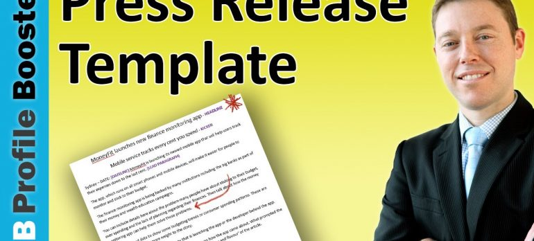 Press Release Template for 2017 – A Guide to Writing Press Releases