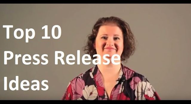 Top 10 Press Release Ideas – DIY Marketing TV