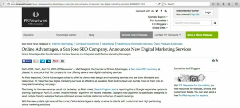 How To Write a Press Release for Internet Marketing