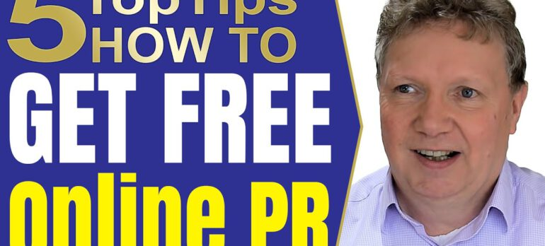 How to develop your online PR strategy and create a great press release or PR shots
