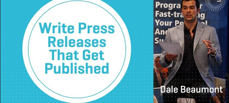 Write Press Releases That Get Published
