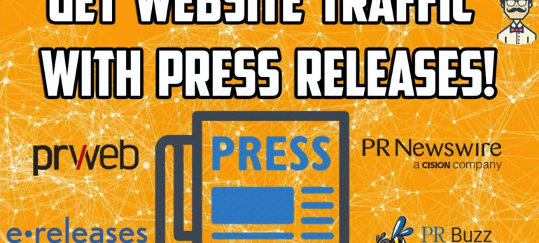 SEO Tutorial Create a Press Release to Attract Thousands of Visitors Seo tips