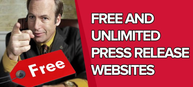What are the free and unlimited press release distribution websites? Press Release Q&A