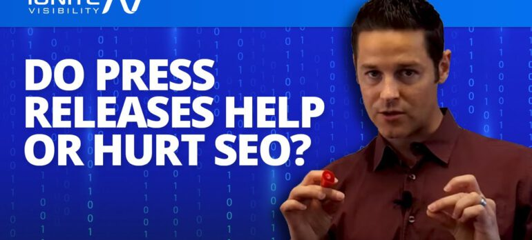 Do Press Releases Actually Hurt Your SEO?