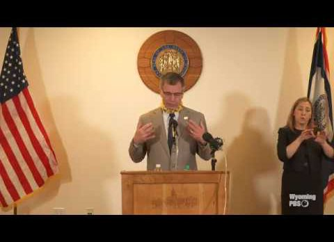 Governor Mark Gordon's Press Conference on COVID-19 – May 20, 2020