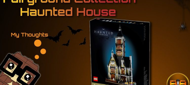 LEGO | Haunted House | Press Release Review