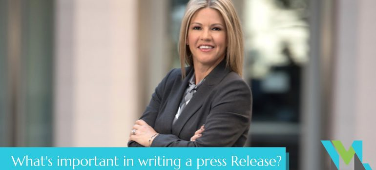 What's Important In Writing a Press Release? | Your Marketing Liaison