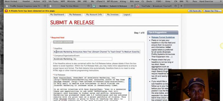 How To Submit A Webwire Press Release For Only $19 In Under 5 Minutes
