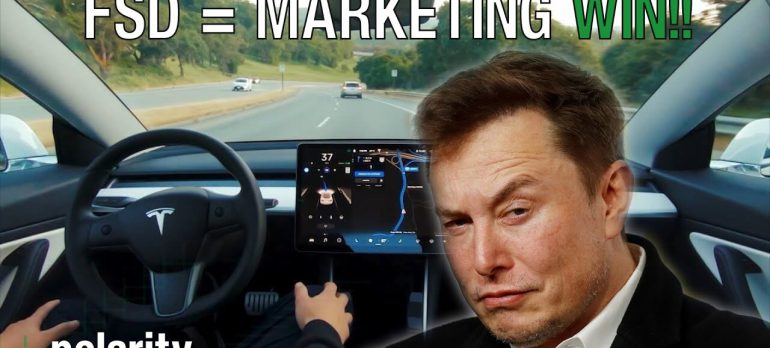 How Tesla Full Self Driving Beta Is A GENIUS Marketing Strategy | FSD Beta
