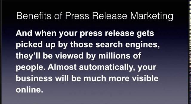 The Benefits of Press Release Marketing