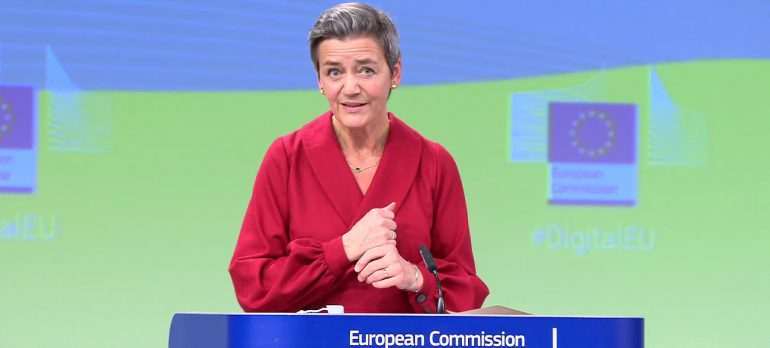 EVP Vestager and Commissioner Thierry on the Digital Services Act and the Digital Markets Act